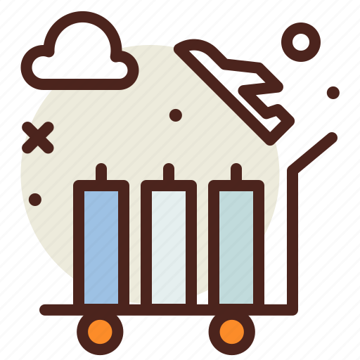 Bag, luggage, travel, troller icon - Download on Iconfinder