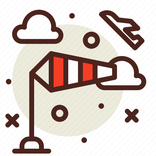 Cone, direction, speed, wind icon - Download on Iconfinder
