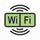 mobile, signal, wifi, airport, wireless, connection, internet