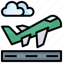 aeroplane, airport, departure, departures, flight, transport, transportation icon