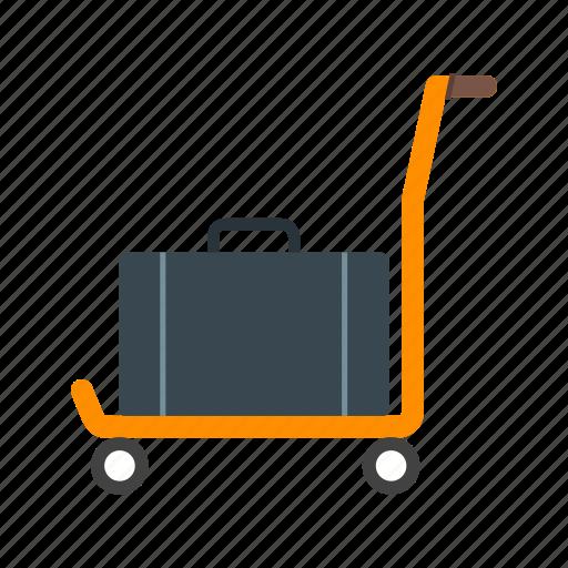 airport, bag, lounge, luggage, people, travel, walking icon