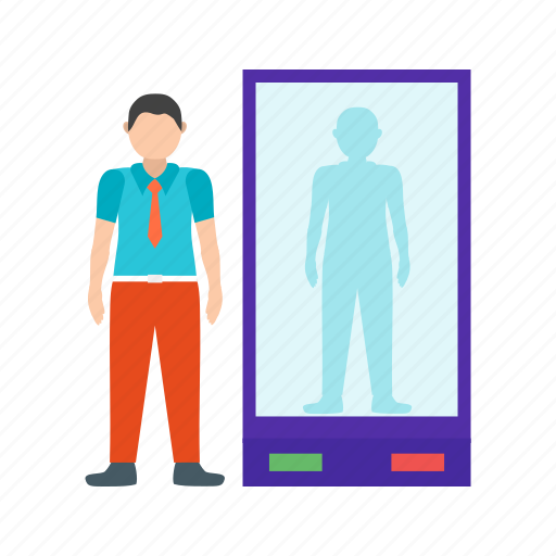 Airport, check, counter, passenger, people, security, travel icon - Download on Iconfinder