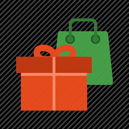box, cargo, decoration, flight, gift, presents, ribbon icon