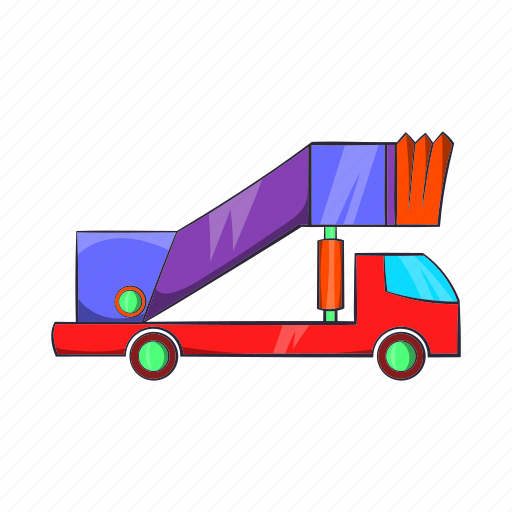 airport, cartoon, runway, transport, transportation, trip, vehicle icon