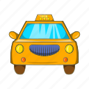 cab, car, cartoon, taxi, transport, transportation, vehicle icon