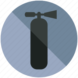 airport, emergency, extinguisher, fire, sign icon