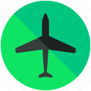 aeroplane, airplane, airport, flight, flights, plane icon