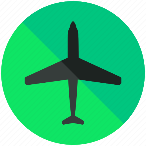 aeroplane, airplane, airport, flight, flights, plane icon