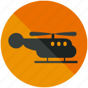 air, airport, helicopter, transportation, vehicle icon