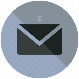 email, envelope, mail, message, postage, sign icon
