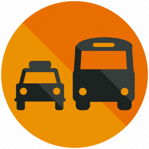 airport, bus, car, public, taxi, transportation, vehicle icon