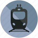 railroad, sign, train, tram, transportation icon