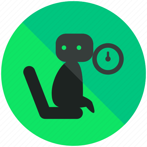 airport, area, clock, sign, waiting icon