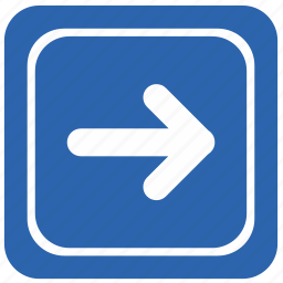 airport, arrow, direction, right icon