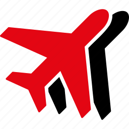 airlines, airplanes, aviation, flights, tourism, transport, wings icon