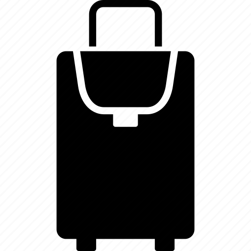 bag, carryon, clothes, luggage, suitcase, transportation, travel icon