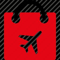 bag, duty free, market, sale, shop, shopping, store icon