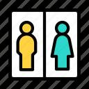 elevator, passenger, lift, airport, man