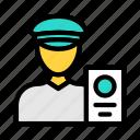 police, guard, airport, passport, security