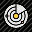 radar, airport, scan, control, airplane