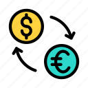transaction, currency, exchange, money, dollar