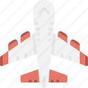 aeroplane, airplane, flight, plane, transportation icon