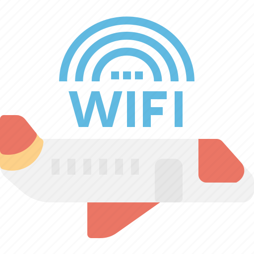 aeroplane, airplane, class, exclusive, first, transportation, wifi icon