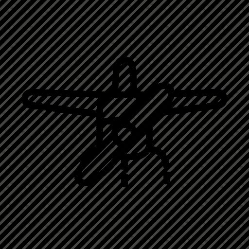 aircraft, airplane, flight, plane, travel icon