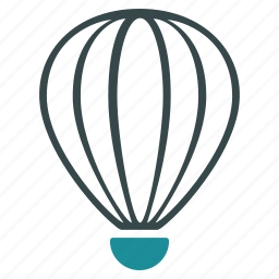 aerostat, aircraft, airship, ballon, balloon, baloon, flight icon