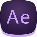adobe, ae, after, aftereffects icon