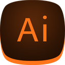 adobe, design, graphic, illustrator, web icon