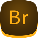 adobe, br, bridge icon