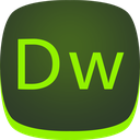 adobe, dreamweaver, dw icon