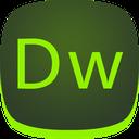 dw, adobe, dreamweaver icon