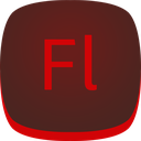 adobe, fl, flash icon