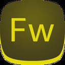 adobe, fireworks, fw icon