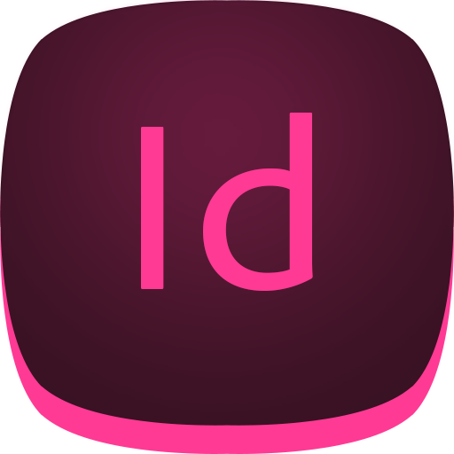 adobe, id, indesign icon