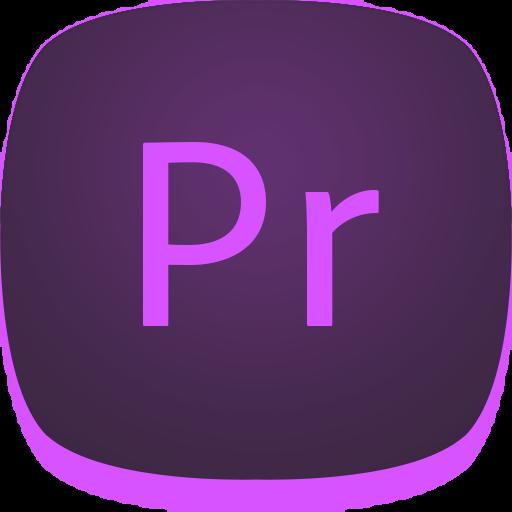 adobe, pr, premiere icon