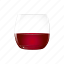 alcohol, brandy, drink, full, half, sangria, sherry icon