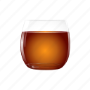 alcohol, cognac, drink, orange, rum, whisky icon
