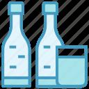 alcohol, beer, bottles, cocktail, drink, glass, wine