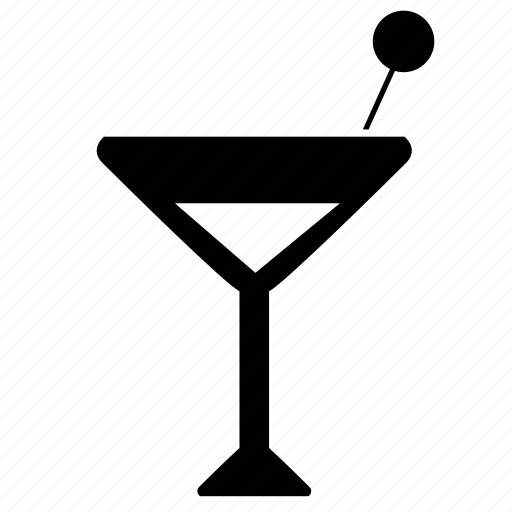 alcohol, bocal, drink, martini, party icon