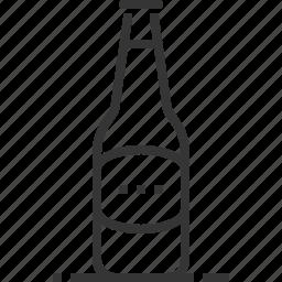 alcohol, bar, beer, beverage, bottle, drink, restaurant icon