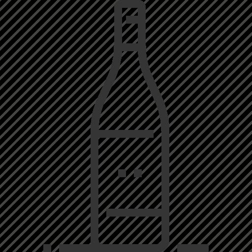 alcohol, bar, beverage, bottle, glass, restaurant, wine icon