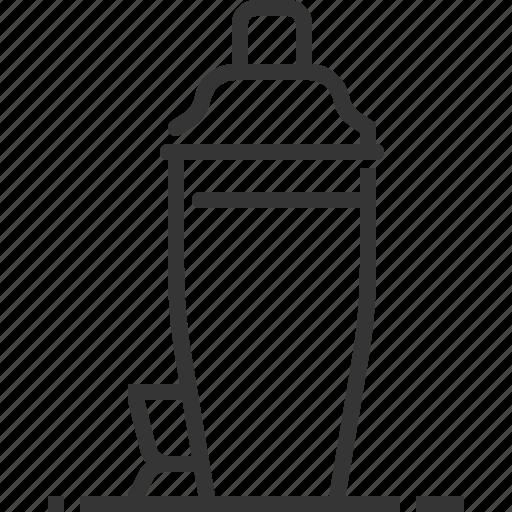 alcohol, bar, bartender, cocktail, mixer, restaurant, shake icon