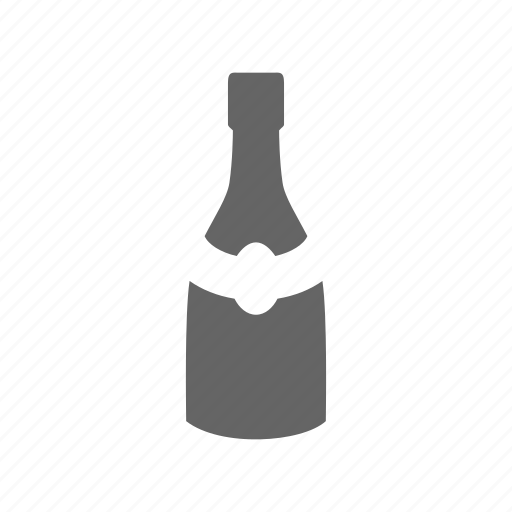 alcohole, bottle icon