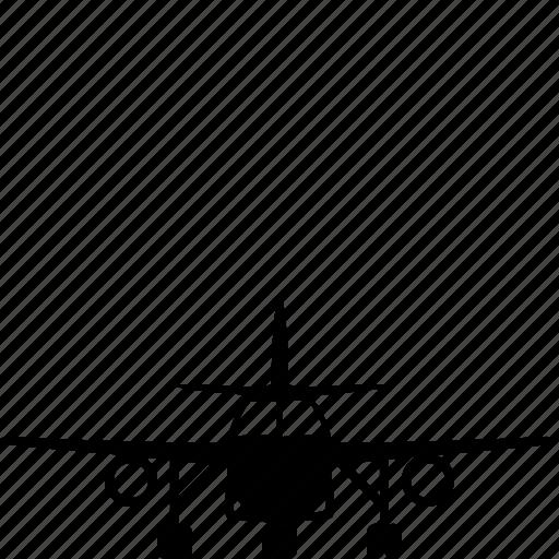 aircraft, airplane, plane, transportation, travel icon