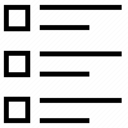 align, checklsit, format, menu, text icon