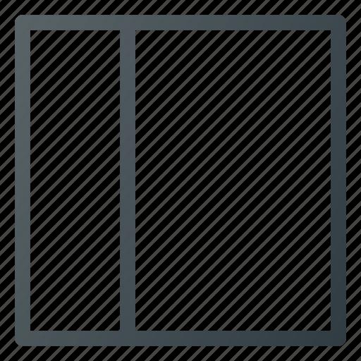 interface, left, sidebar, style icon