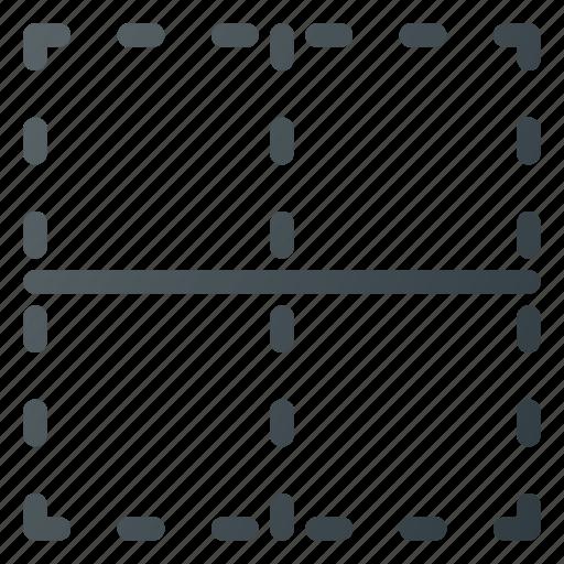 border, center, format, interface, table icon